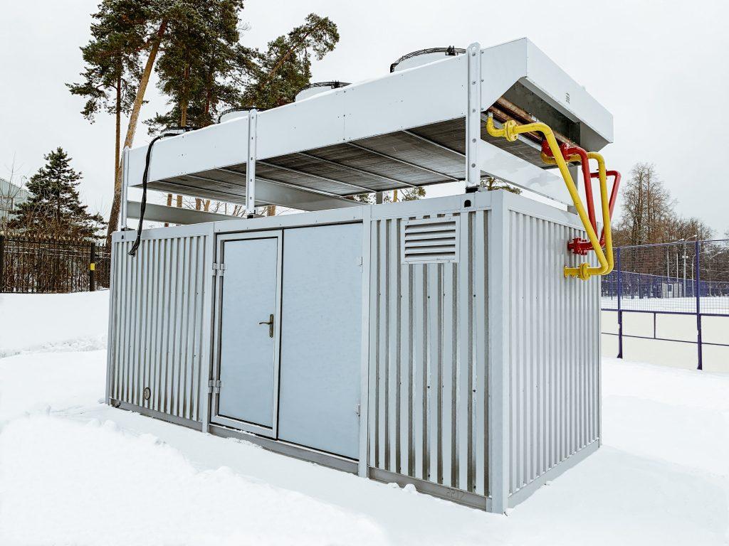 обслуживание катков с искусственным льдом